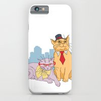 iPhone & iPod Case featuring Calgary Cats by Marlene Pixley