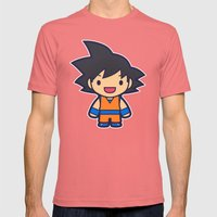 FunSized GoKu Mens Fitted Tee Pomegranate SMALL