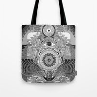 The Loud & Silent Tote Bag