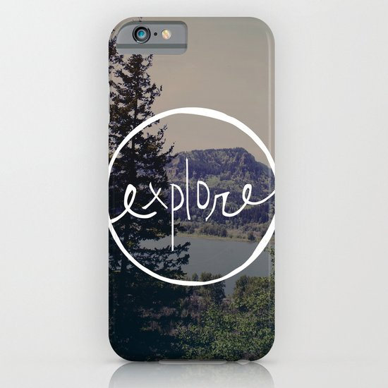 Explore Oregon iPhone & iPod Case