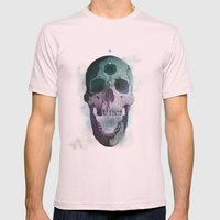 Ājňā - The Summoning Mens Fitted Tee Light Pink SMALL