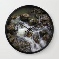 Rainforest Falls Wall Clock