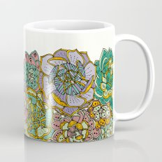 Blooming Succulents Mug