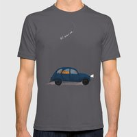 Let's Take A Ride.. Mens Fitted Tee Asphalt SMALL