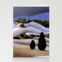 The Weather Breaks, Bay … Stationery Cards
