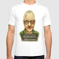 Breaking Bad. SMALL White Mens Fitted Tee