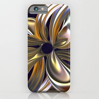 iPhone & iPod Case featuring Gilded Lily by ArtPrints
