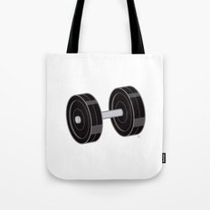 Dumbbell Tote Bag