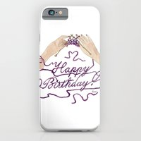 Knitting You a Happy Birthday iPhone 6 Slim Case