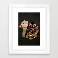 My Dexterous Shadow Framed Art Print