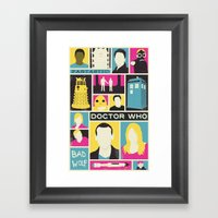 Doctor Who - The Ninth Doctor Framed Art Print