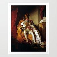 Nick Offerman Is KING!  … Art Print