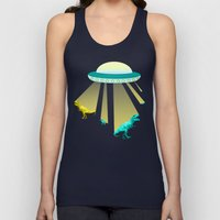 Aliens do exist - dino exctinction event Unisex Tank Top