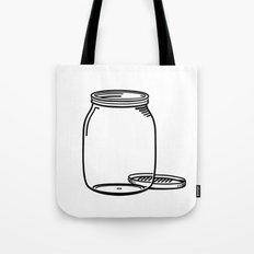 The Empty Jar Tote Bag
