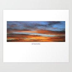 SKY WINDOW Art Print
