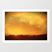 Landscape #5 Art Print