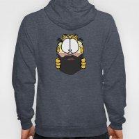 Garfield Cat Beard Hoody