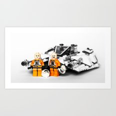 Rebel Fly-boys Art Print