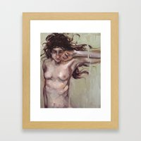 The Wanting Framed Art Print
