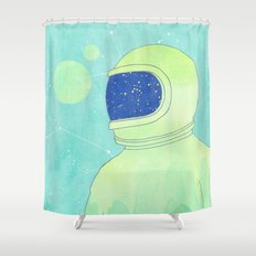 Wanderer Within Shower Curtain
