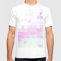 Pink Triangle Mens Fitted Tee White SMALL