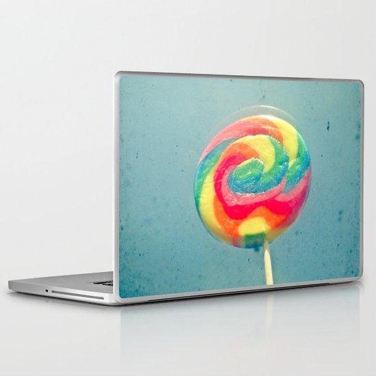 I Can Taste a Rainbow Laptop & iPad Skin