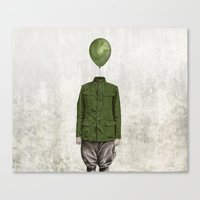 The Soldier - #3 Canvas Print