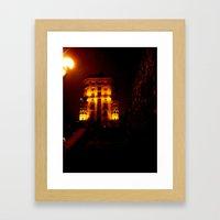 Night Crest 6 Framed Art Print