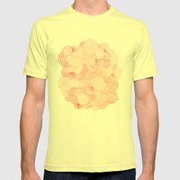 Fireworks Mens Fitted Tee Lemon SMALL