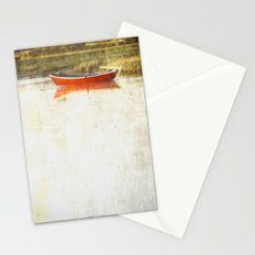 Red metal Stationery Cards
