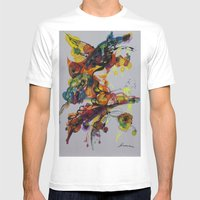 Fantasy 1 Mens Fitted Tee White SMALL
