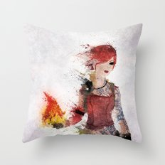 Lilith Throw Pillow