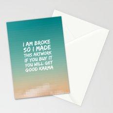 Good Karma Stationery Cards
