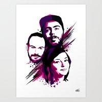 Chvrches Art Print