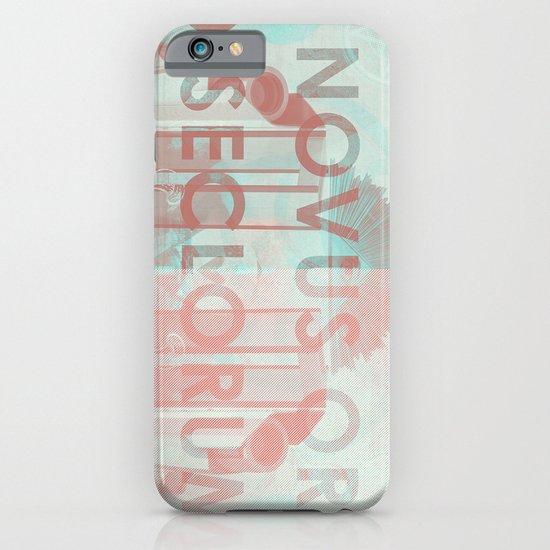 Novus Ordo Seclorum iPhone & iPod Case