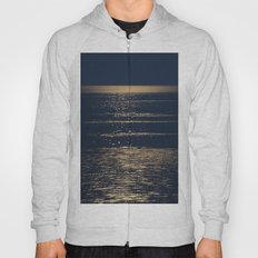 Abstract 121 - supermoon light Hoody