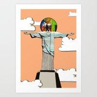 I Never Believed ... Art Print