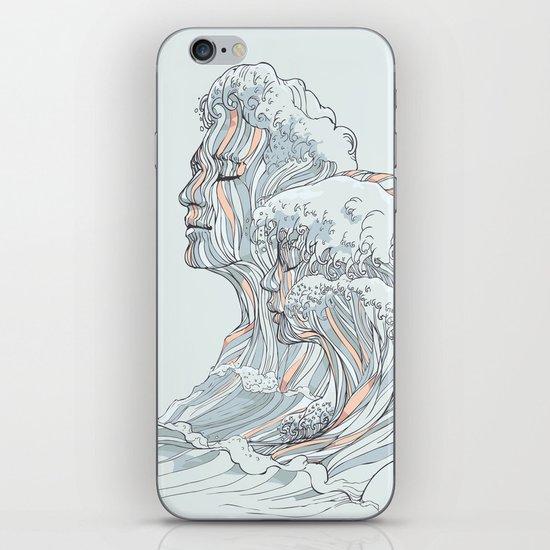 BREATHE DEEPLY iPhone & iPod Skin