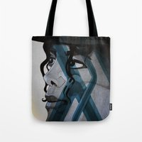 Looking Out Across The N… Tote Bag