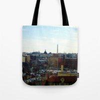 Washington DC Rooftops Tote Bag