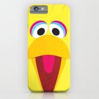 iPhone & iPod Case featuring Minimal Bigbird by Shawn P Cowan