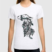 Poetic Llama  Womens Fitted Tee Ash Grey SMALL