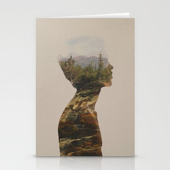 Side by Side Stationery Card