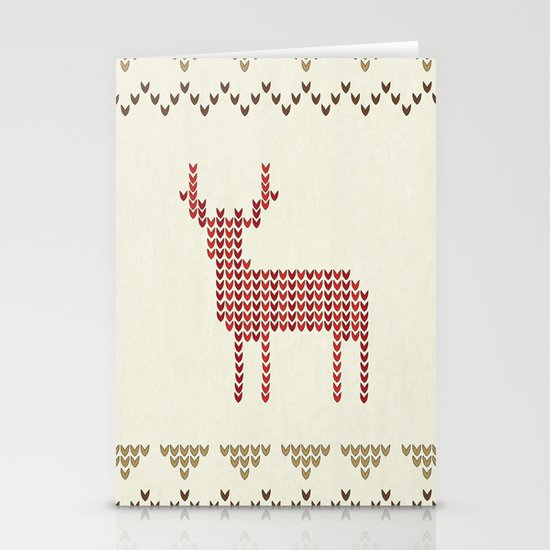 Knitted Stationery Card