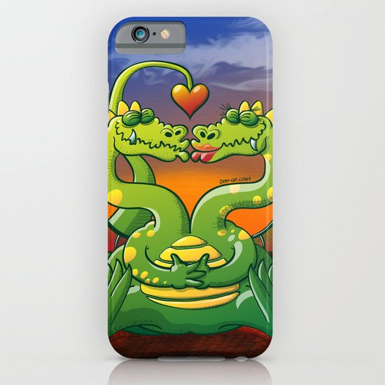 Dragons Madly in Love iPhone & iPod Case