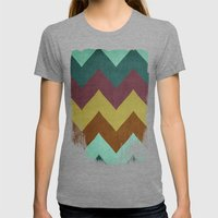 Mountain High Womens Fitted Tee Tri-Grey SMALL
