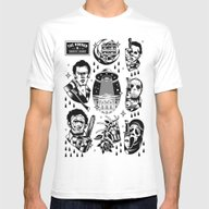 Classic Horror Tattoo Se… Mens Fitted Tee White SMALL