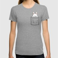 My Pet Womens Fitted Tee Tri-Grey SMALL