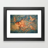 Sky Diver  Framed Art Print