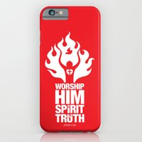 iPhone & iPod Case featuring Worship Him In Spirit & In Truth by Liyin